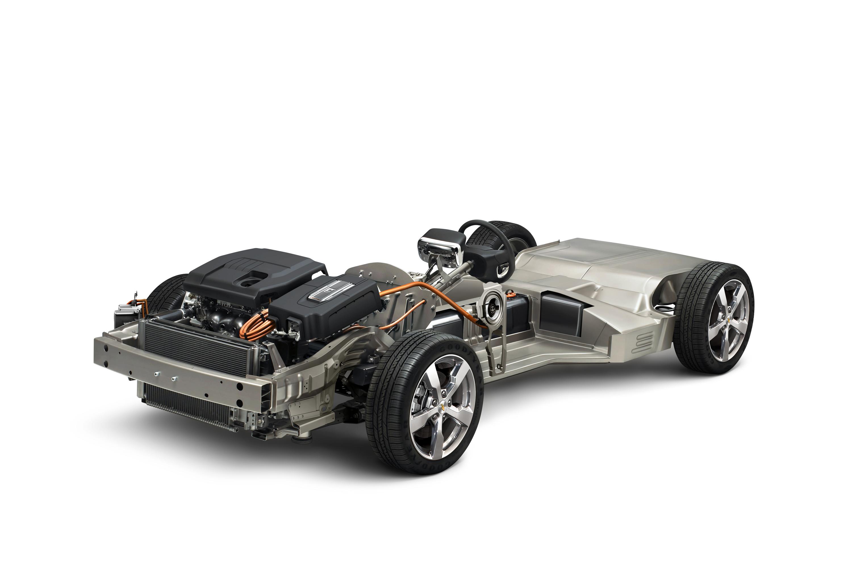 Cadillac Converj Chassis & Powertrain